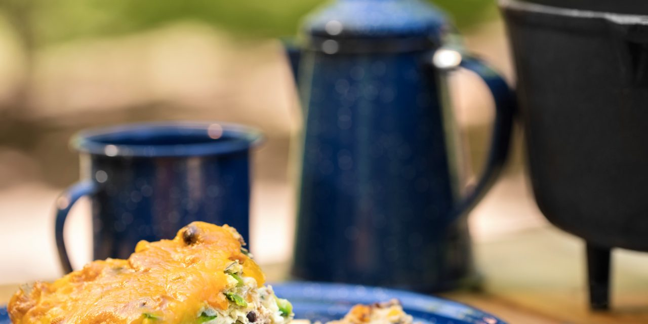 Dutch Oven Southwest Breakfast