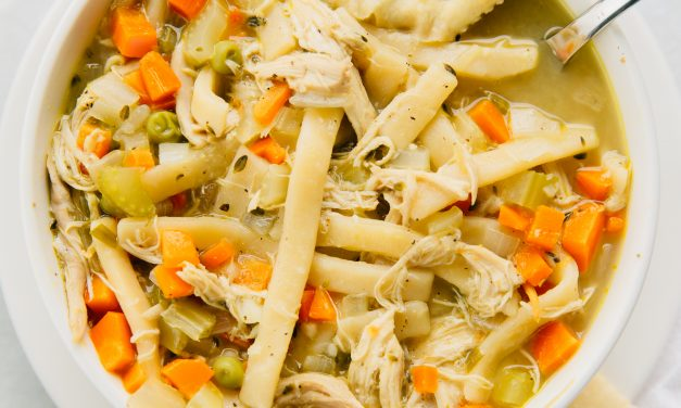 Easy Chicken Noodle Soup