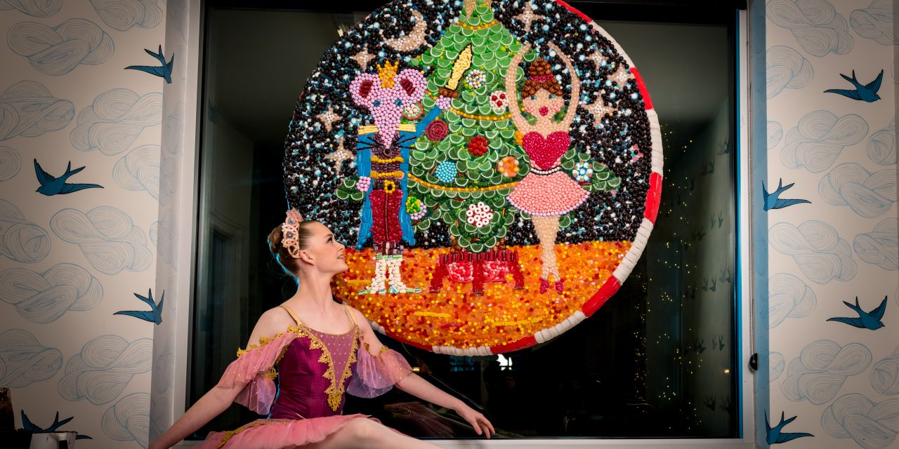 Cache Valley Civic Ballet's Sugar Plum Fairy Visits the Land of the Sweets at Bluebird Candy Co. on Center Street