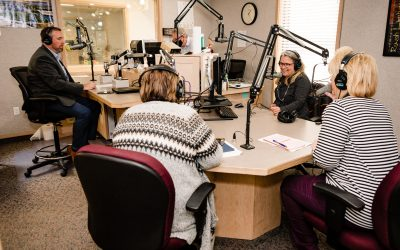 "Behind the Scenes of Local Radio's ""Senior Moments"""